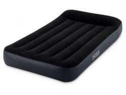Intex 64141 Pillow Rest Classic Twin 1-Persoons Luchtbed 191x99x25 cm Zwart
