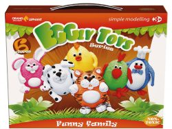 Klei A-Ball Clay Funny Family
