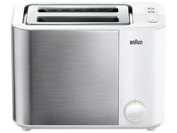 Braun HT5000WH Broodrooster RVS/Wit