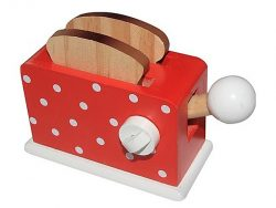 Simply for Kids Houten Broodrooster + Brood Rood