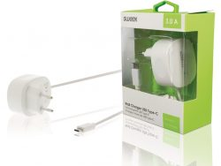 Sweex CH-005WH Lader 3.0 A Usb-c Wit