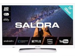 Salora 24 Milkyway Android HD TV 60 cm Wit