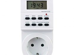 Digitaal Timer Silver Electronics 49401 3600W Wit