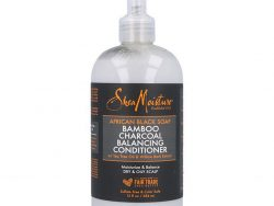 Conditioner  African Black Soap Bamboo Charcoal Shea Moisture (384 ml)