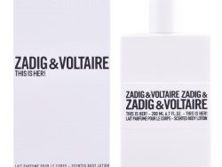 Body Lotion This is Her! Zadig & Voltaire (200 ml)