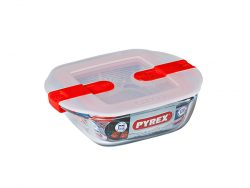 Lunchbox Pyrex COOK&HEAT Transparant Glas