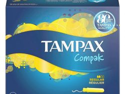 Normale Tampons COMPAK Tampax (22 uds)