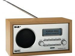 Imperial DABMAN 30 DAB+ Radio Hout/Zilver