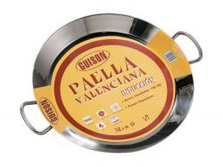 Paella Pan Guison SSF-16 Roestvrij staal 18/10 (40 cm)