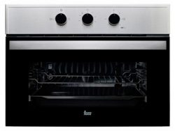 Conventionele Oven Teka HBC 535 SS 48 L Display LED 2593W Roestvrij staal Zwart