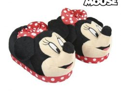 3D-Slippers Voor in Huis Minnie Mouse 73358 Rood