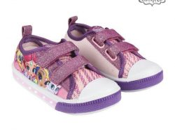 Casual sportschoenen met LED Shimmer and Shine 73624 Paars