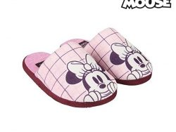 Slippers Voor in Huis Minnie Mouse Roze