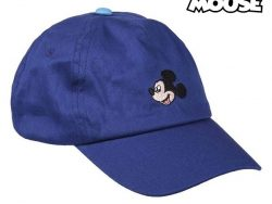 Kinderpet Mickey Mouse Donkerblauw (53 cm)
