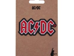 Patch ACDC Rood (10 x 14