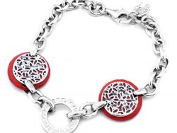 Armband Dames Viceroy 1035P000-54 Ziverachtig Rood (19 cm) Sterling zilver