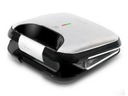 Tosti apparaat Cecotec Rock'nToast Fifty-Fifty 750W Roestvrij staal 750 W