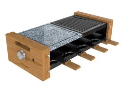 Grilplaat Cecotec Cheese&Grill 8400 Wood MixGrill 1200 W