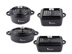 Keukenset Masterpro Cook and Share Roestvrij staal Gietijzer (4 pcs)