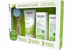 Unisex Cosmetica Set Weleda Naturally Clear (4 pcs)
