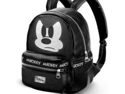Casual Rugtas Mickey Mouse Fashion Angry Zwart (32 x 24 x 14 cm)