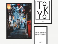 Lost In Tokyo Gallery Wall