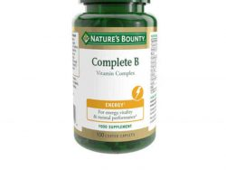 Tabletten Nature's Bounty B-Complex (100 uds)