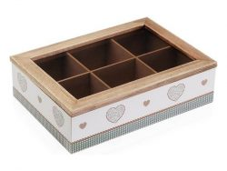 Box for Infusions Kamira Hout (17 x 7 x 24 cm)
